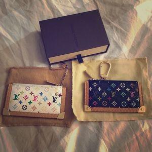 Authentic Louis Vuitton multi color key cles (2)